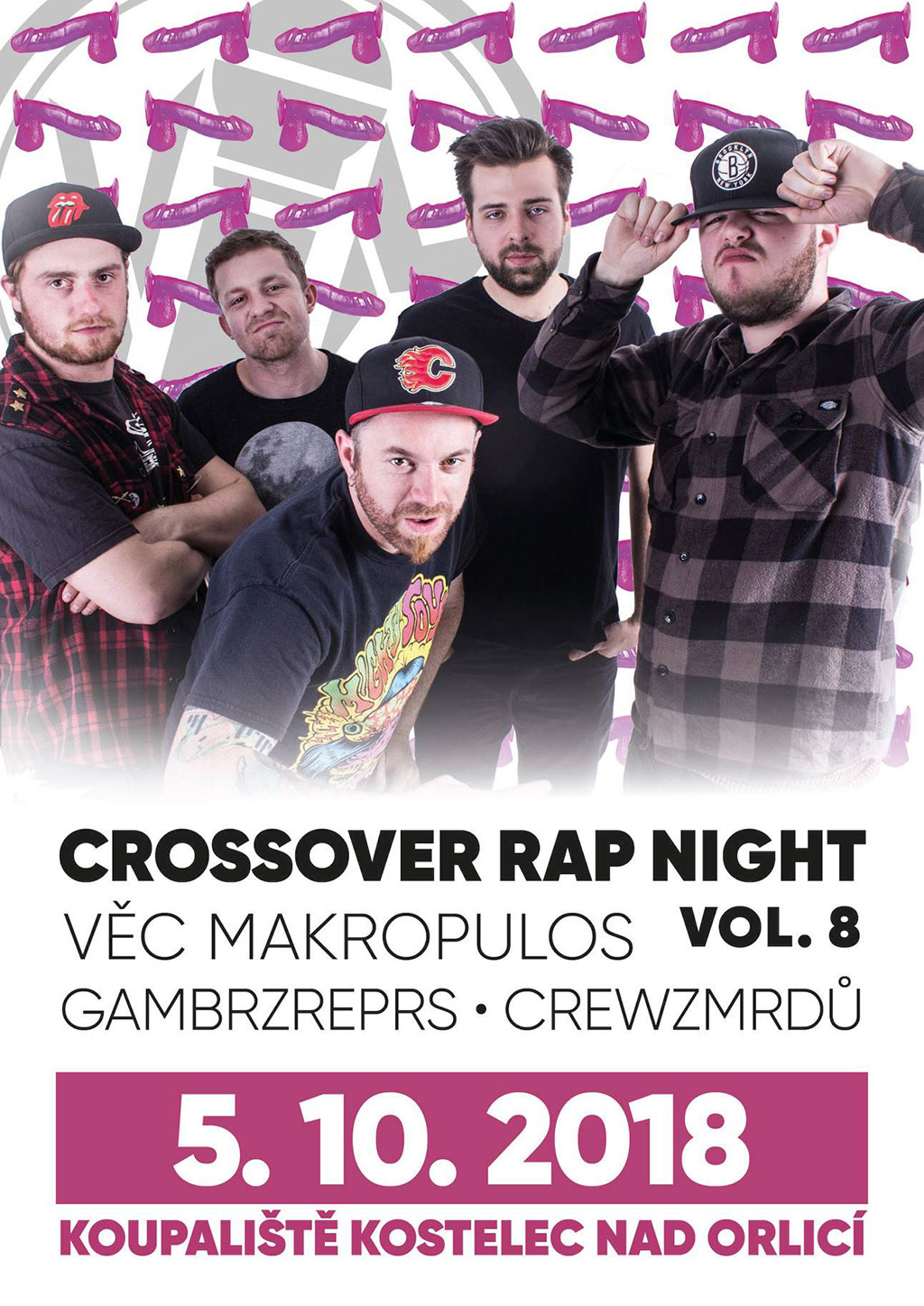 Crossover Rap Night vol. 8